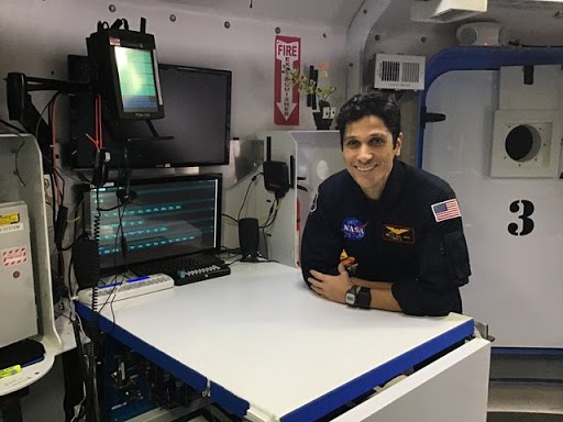 Mounir Alafrangy, MS '18, spent 45 days in isolation with three people as part of a NASA program studying a red planet mission's effects on human physiology and the human mind.
