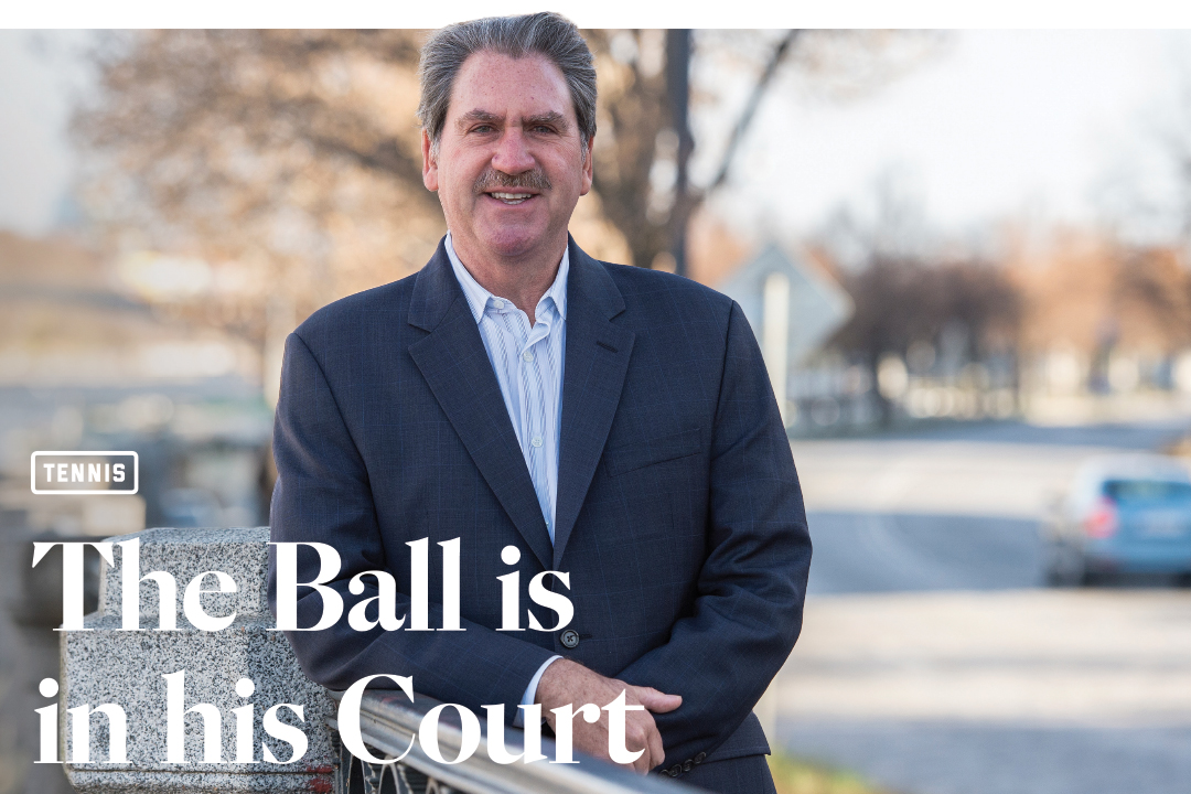 The ball is in his court