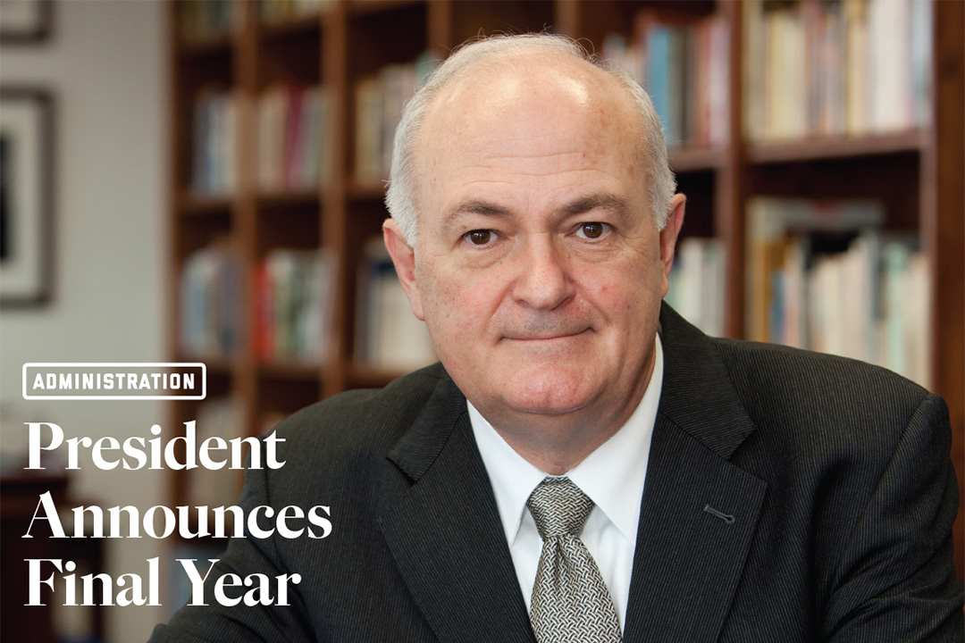 president announces final year