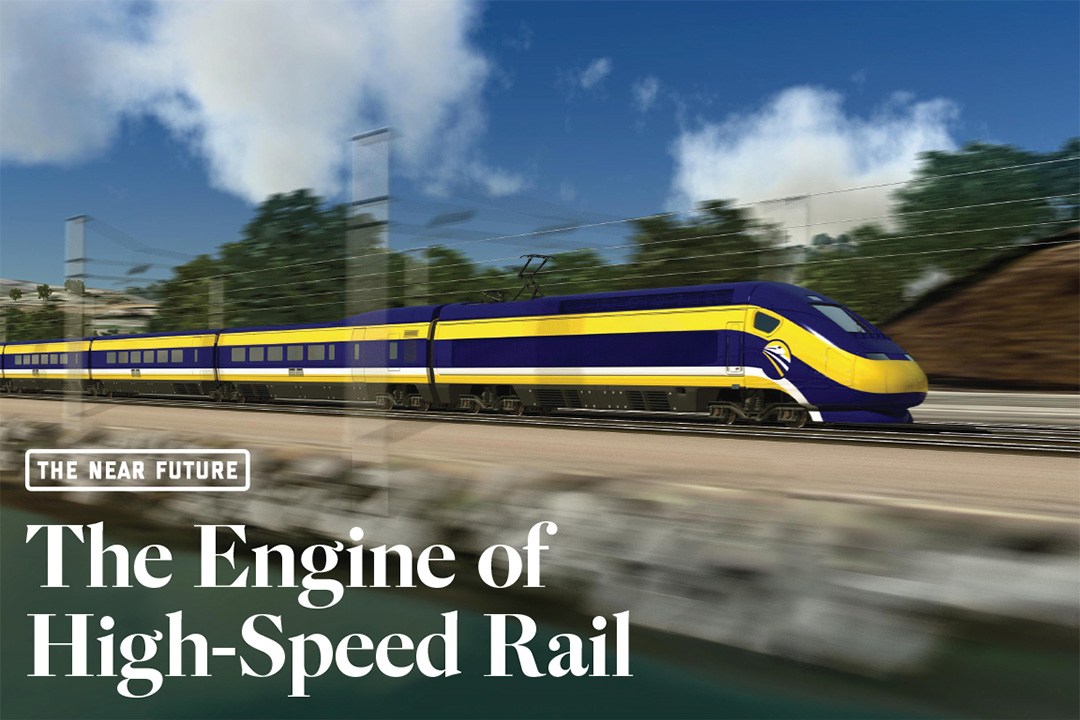 The Engine of High Speed Rail