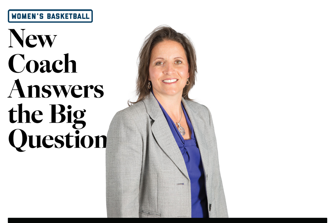Women's Basketball: New Coach Answers the Big Question