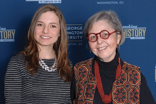two women posing for a photo