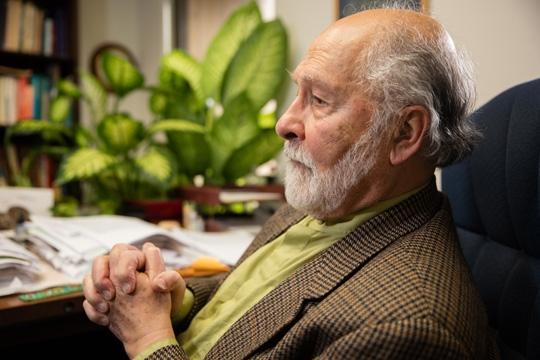 Seyyed Hossein Nasr in profile