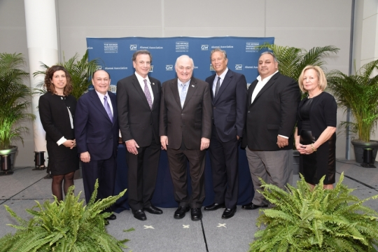 GW Alumni Association Recognizes Six with Service Award