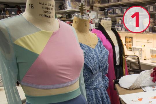 mannequins in costume